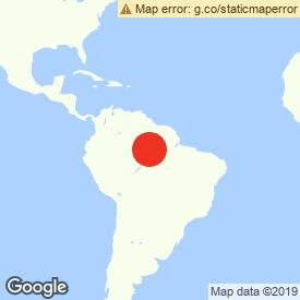 Map of Apuí, Brazil
